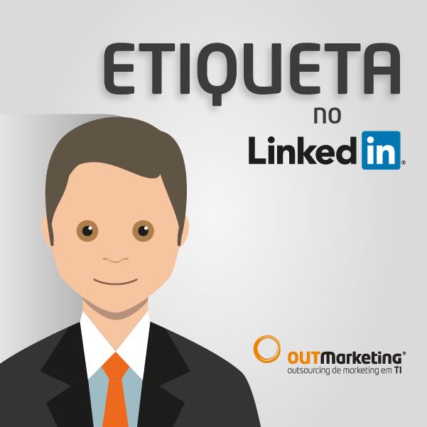 Etiqueta no LinkedIn